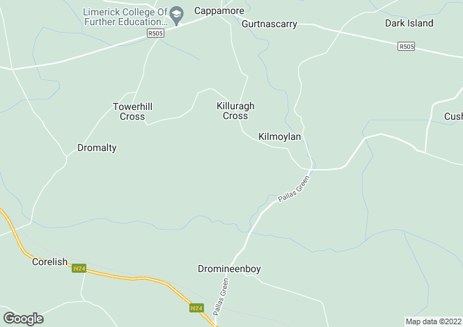 Map for Killuragh, Cappamore, Limerick