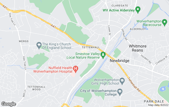 Map for Bartlams, Tettenhall