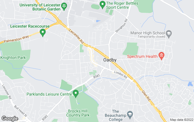 Map for Newton Fallowell, Leicester