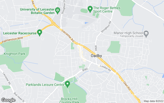 Map for Spencers Estate Agency, Oadby
