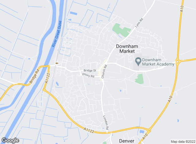 Map for William H. Brown, Downham Market