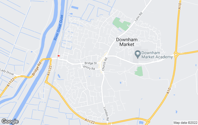 Map for King & Partners, Downham Market