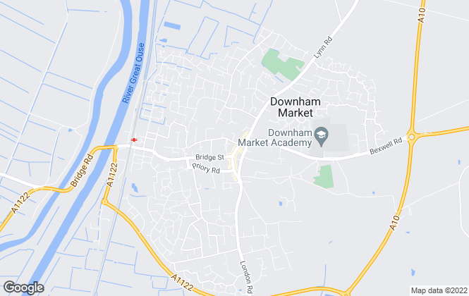 Map for Morris Armitage, Downham Market (Lettings)