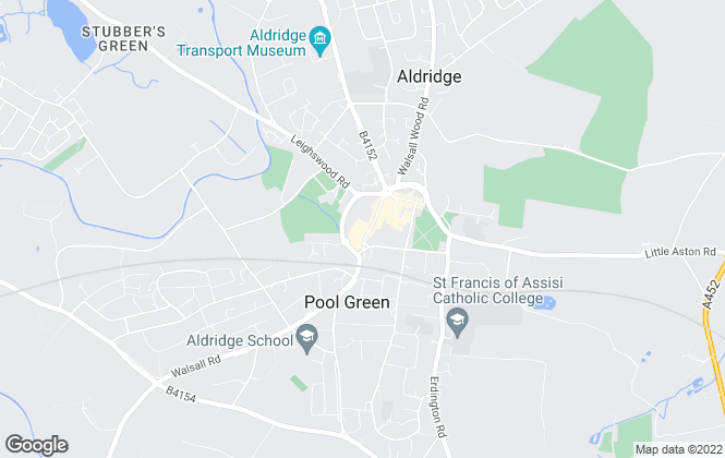 Map for Edwards Moore, Aldridge