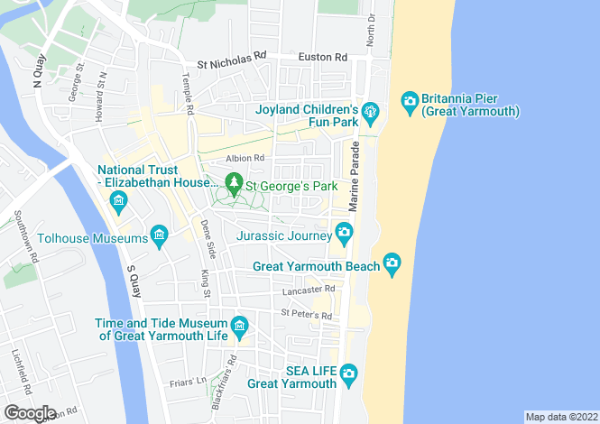 Map for Great Yarmouth
