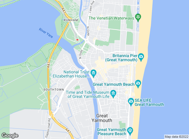 Map for Bycroft, Residential Sales- Great Yarmouth