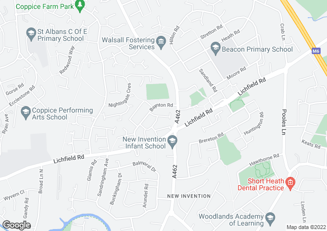 Map for John Riley Drive, Willenhall, West Midlands, WV12