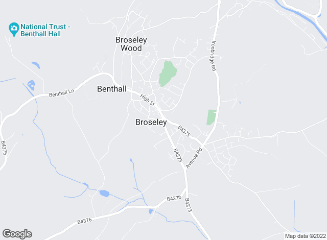 Map for Harwood Shropshire Ltd  , Broseley
