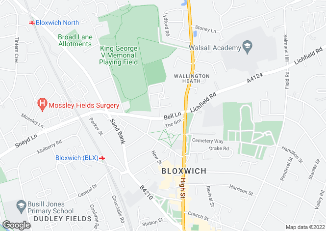 Map for Keswick at The Bridles, Bell Lane,