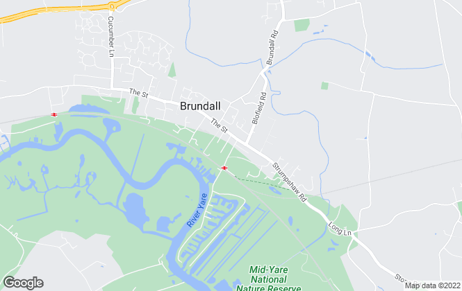 Map for Gilson Bailey, Brundall