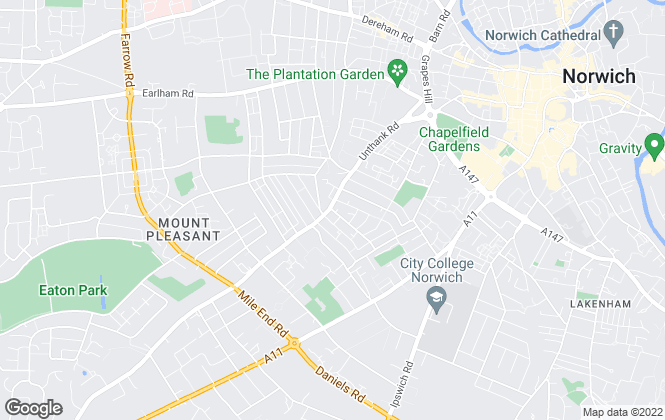 Map for ClaxtonBird, Norwich