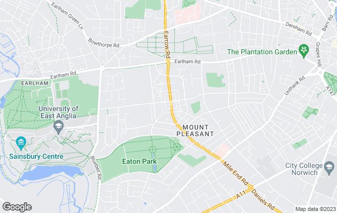 Map for Langford Ltd , Norwich