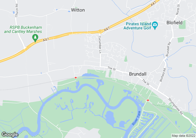Map for Brundall