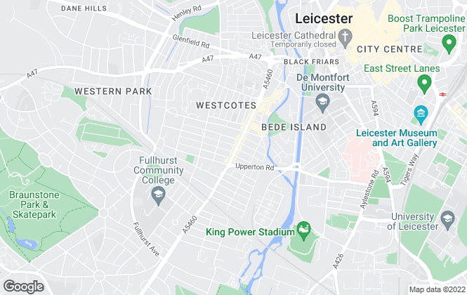 Map for Shonki Brothers, Leicester