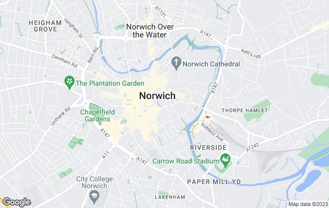 Map for NPS , Norwich