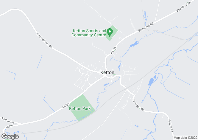 Map for Manor Green, Ketton