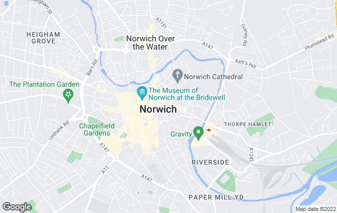 Map for Arnolds Keys Collection Norfolk, Norwich