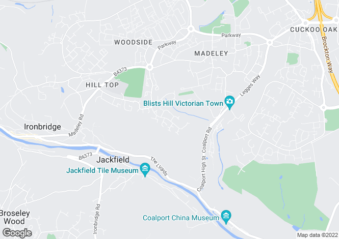 Map for Glendinning Way, Madeley, Telford, TF7