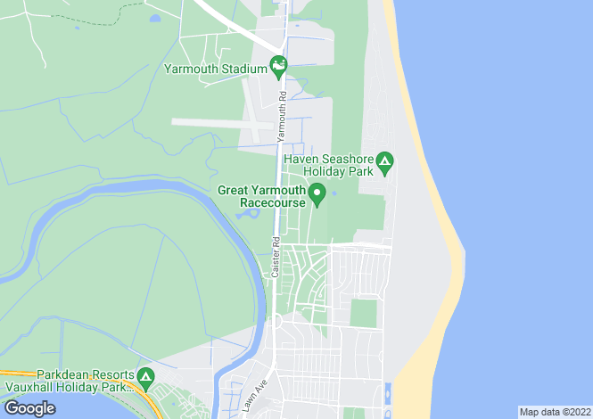 Map for Crosstead, Great Yarmouth, NR30
