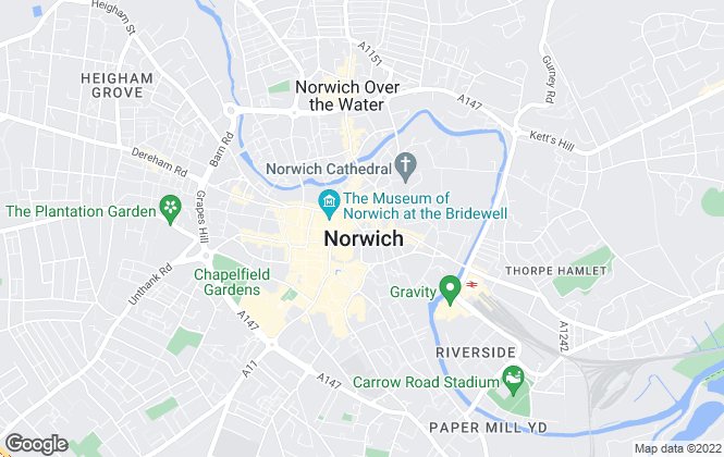 Map for William H. Brown, Norwich