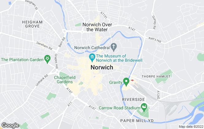 Map for William H. Brown, Norwich - Select Homes
