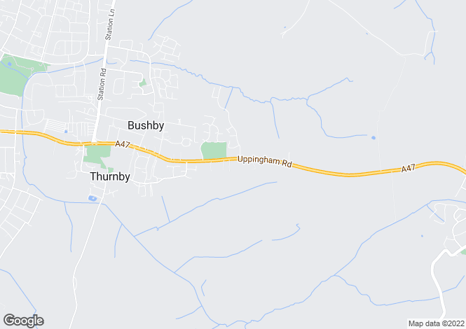 Map for Uppingham Road,