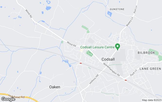 Map for Bartlams, Codsall