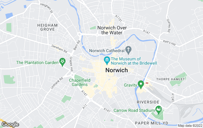 Map for Property Ladder, Norwich