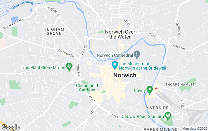 Map for I.M Your Letting Agent, Norwich