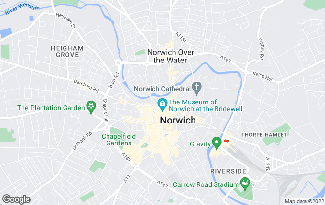Map for Leaders, Norwich