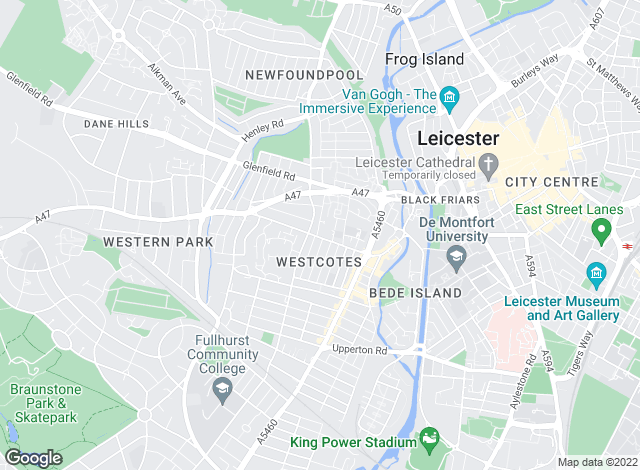 Map for Keywest Estate Agents, Leicester