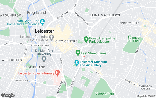 Map for Set To Let, Leicester
