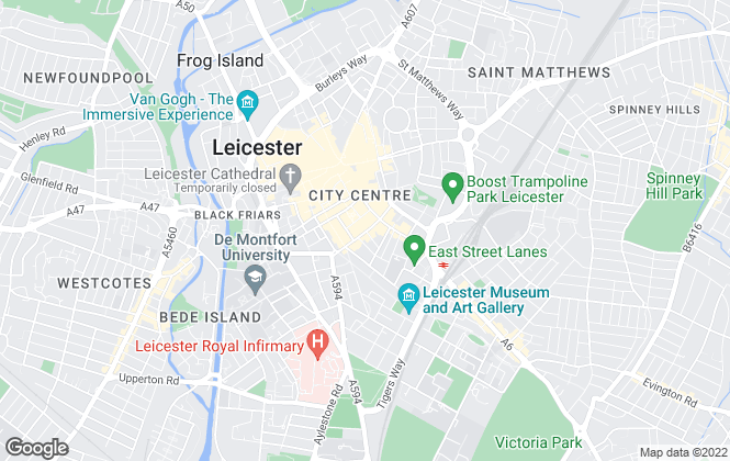 Map for Brink Riley, Leicester