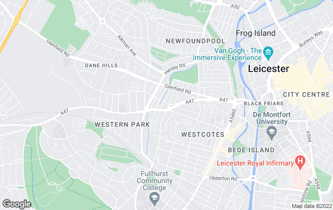 Map for Igloo Sales & Lettings Ltd, Leicester