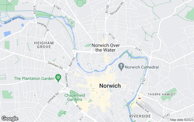 Map for Black Orange , Norwich