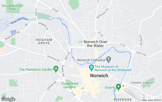 Map for Architekton , Norwich