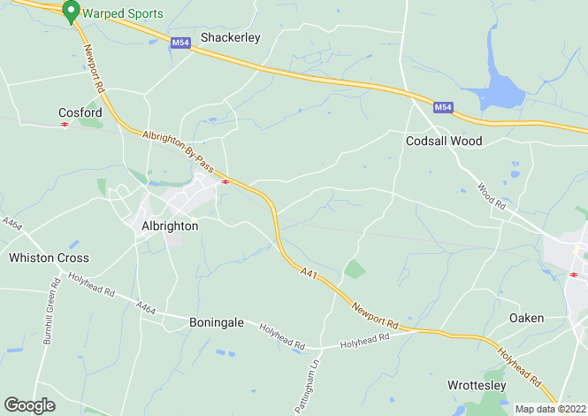 Map for 2 Beamish Farm Barns, Beamish Lane, Albrighton, Wolverhampton, Shropshire, WV7 3AG