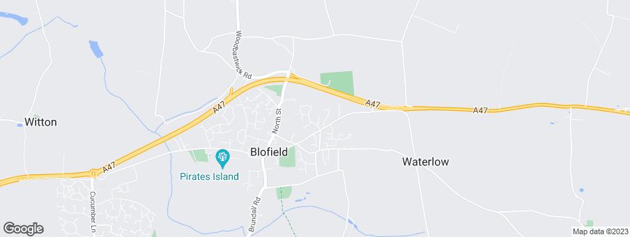 Map for Norfolk Homes Ltd