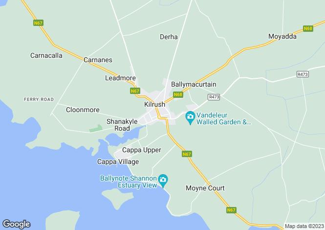 Map for Clare, Kilrush