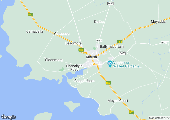 Map for Doneen, Kilrush, Clare