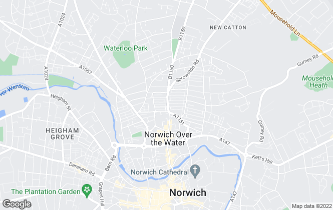Map for Complete Property Estates, Norwich