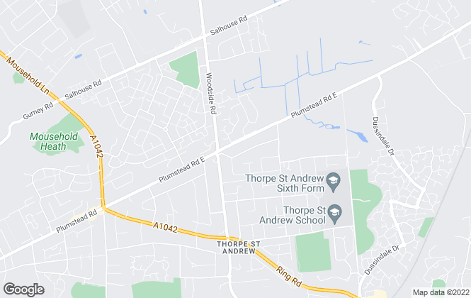 Map for Morton Reeves Estate Agents, Norwich