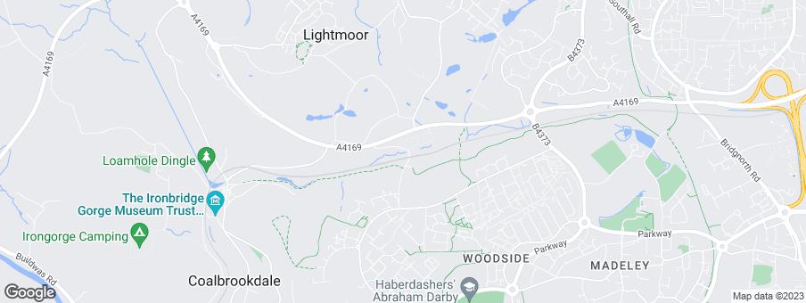 Map for Linden Homes West Midlands