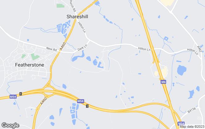 Map for Dassaur Estate Agents, Wolverhampton