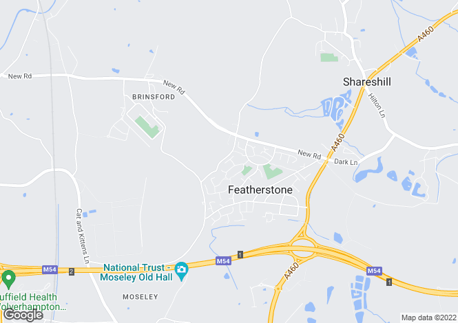 Map for Sorrel Close, Featherstone, Wolverhampton WV10