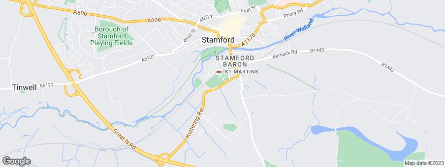 Map for Morris Homes Eastern Ltd