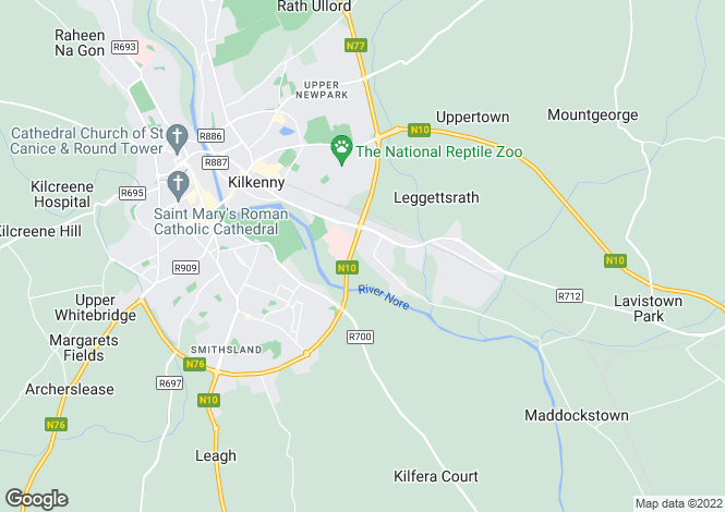 Map for Siloam, Sion Road,, Kilkenny