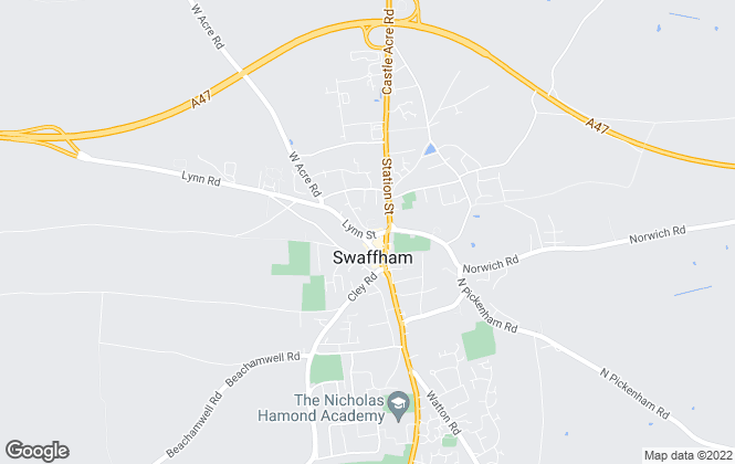 Map for William H. Brown, Swaffham