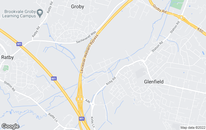 Map for Glenfield Storage Solutions Limited, Leicester