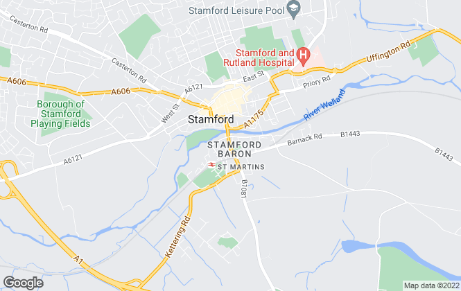 Map for Smiths Gore, Stamford